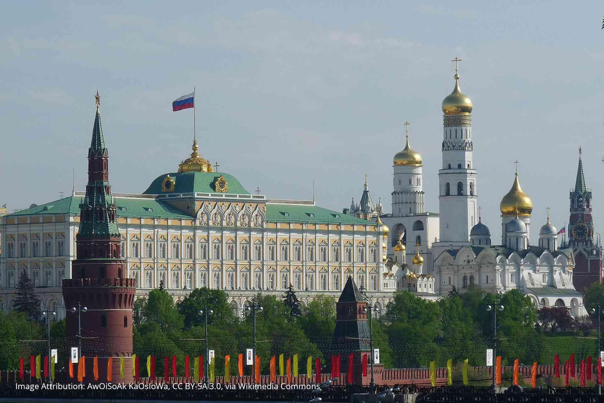 The Kremlin Controls The Russian Internet